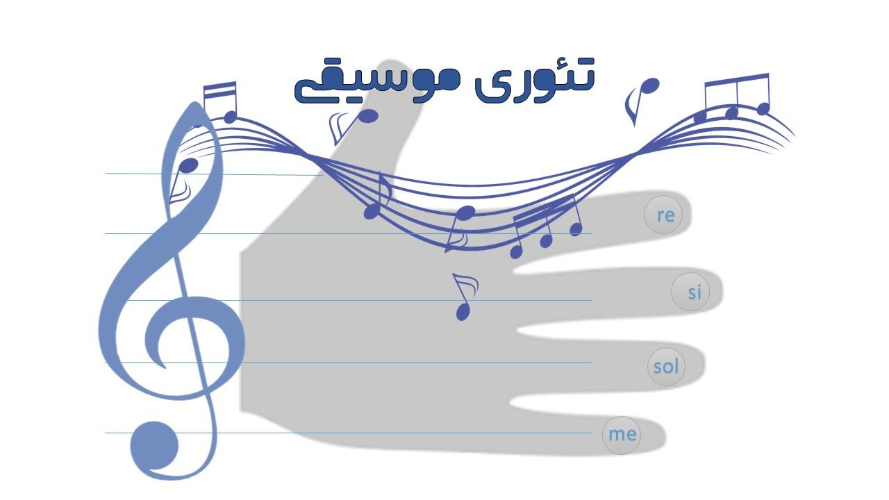 تئوری موسیقی-پنج خط حامل
