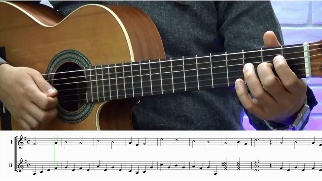 آموزش گیتار با متد مل بی